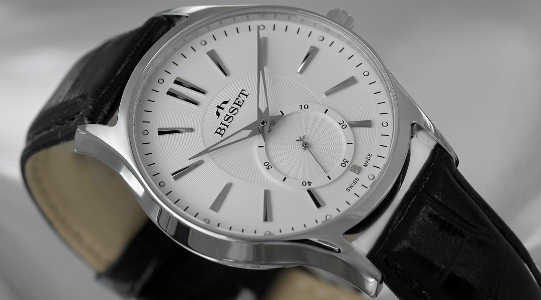 BISSET стильные швейцарские часы