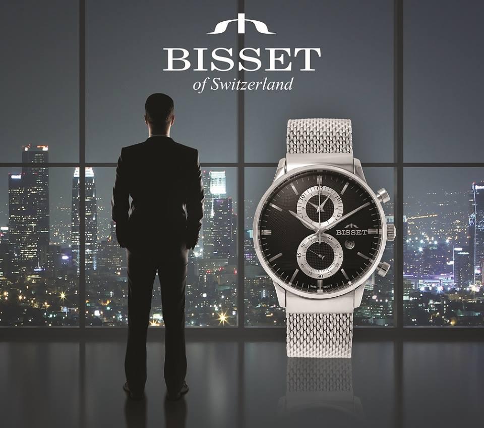 Мужские швейцарские часы BISSET