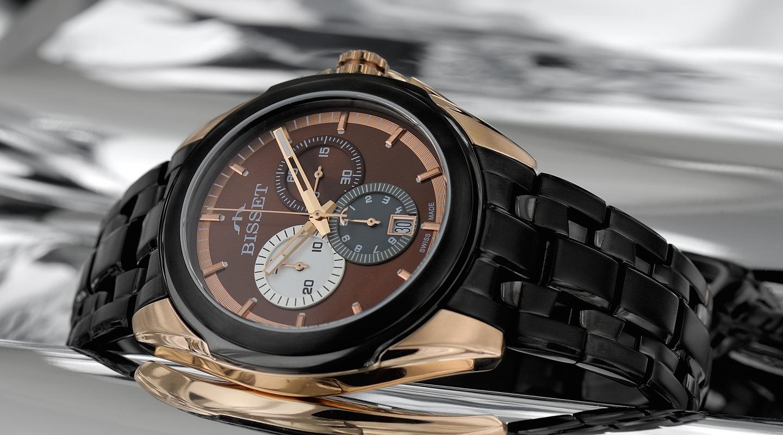 BISSET магазин оригинальных часов из Швейцарии