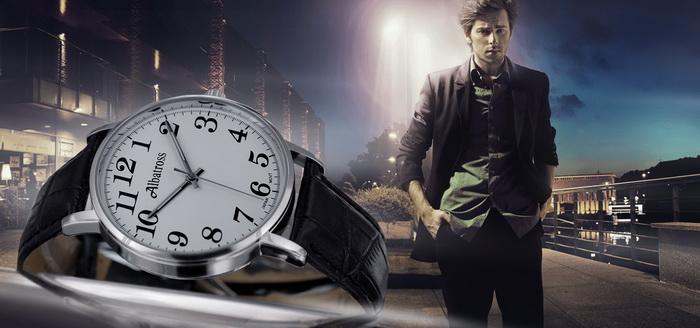 Albatross оригинальные часы