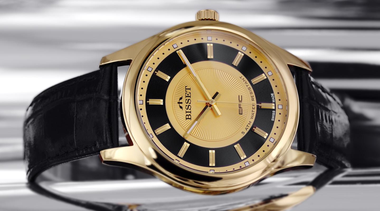 Швейцарские Мужские часы BISSET