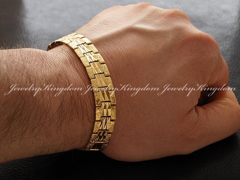 золотые мужские браслеты на руку фото