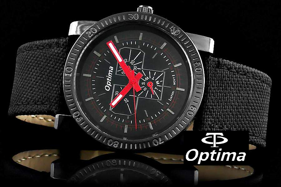 Оригинальные мужские часы OPTIMA