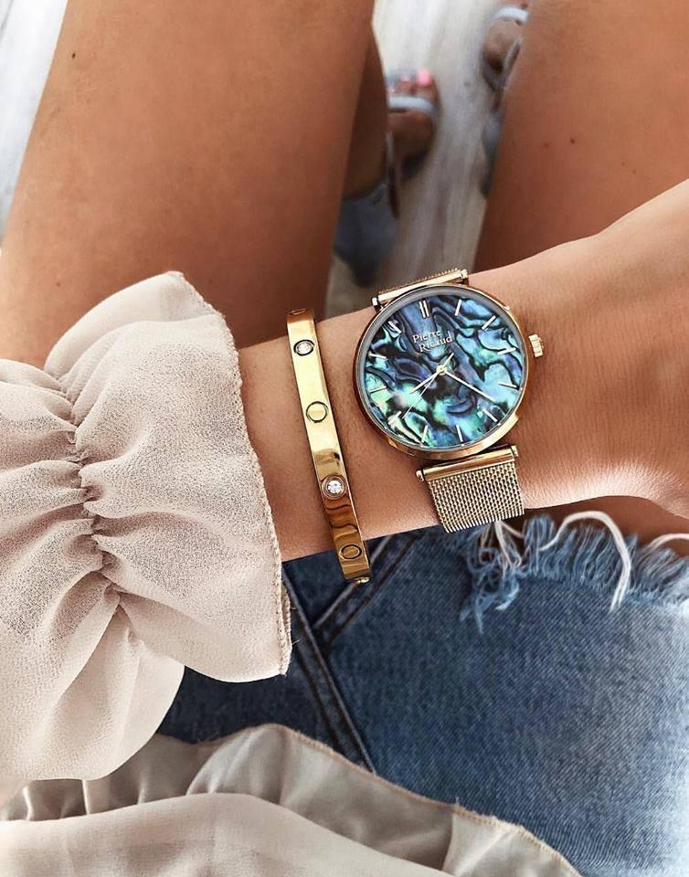 как правильно носить часы вместе с браслетом